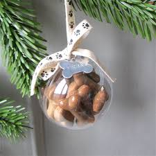 dog treat personalised christmas bauble personalised christmas
