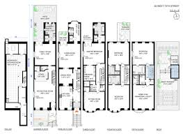 Home Gym Floor Plan Glorious Upper West Side Mansion With Indoor Basketball Court