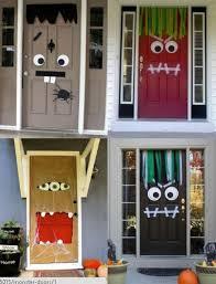 Halloween Front Door Decor Bricolages D U0027automne à Faire Avec Vos Petits Monstres Diy