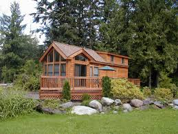Log Cabin Floor Plans With Loft by Tiny Home Cabin Mt Hood Village Cavco Creekside Loft Tiny