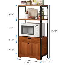 kitchen pantry storage cabinet microwave oven stand with storage kitchen storage cabinet microwave oven stand shelves kitchen baker s rack with 1 cabinet bookshelf cabinet bathroom shoe racks 41 73 h
