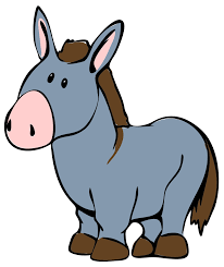 donkey clipart simple pencil and in color donkey clipart simple