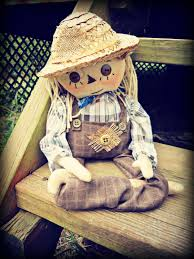 mr scarecrow doll october finds fall decor halloween decor