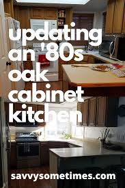 update oak kitchen cabinets updating 80s oak cabinets how to remodel without painting