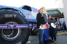 monster truck jam san antonio mad scientist monster truck pushes vp racing fuels mainstream