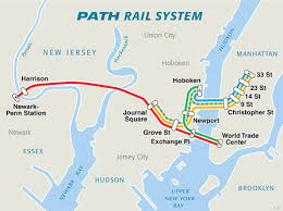 hudson bergen light rail map prudential center getting here