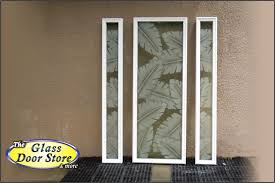 Glass Door Etching Designs by Etched Glass Tropical Designs On Front Entry Doors