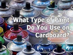 what type of paint do you need for kitchen cabinets what type of paint do you use on cardboard cardboard help