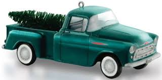 Ornaments For Trucks Hallmark Keepsake Ornaments 2015 1957 Chevrolet 3100