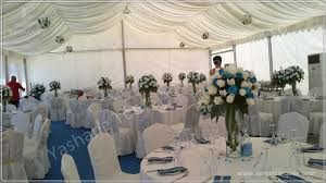 rent a wedding tent 150 seaters white luxury wedding marquee for rent with wind