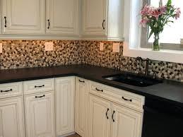 rock kitchen backsplash river rock kitchen backsplash home design ideas and pictures