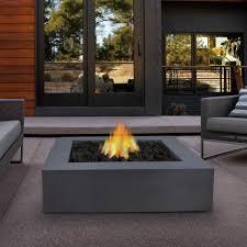 modern fire pit concrete fire pits modern outdoor fire pit