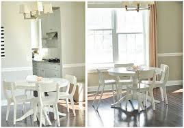 cheerful dining room update tables west elm walnut bullnose