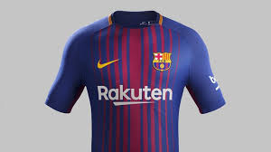 Baju Jersi Nike the new fc barcelona kit for the 2017 18 season fc barcelona