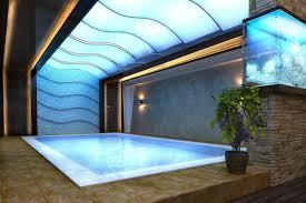 Open Space Living Room Billiard Room Bar Swim Pool Garden Room
