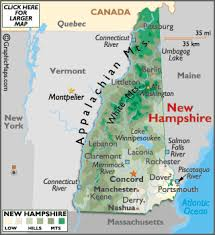 map usa new hshire new hshire map geography of new hshire map of new
