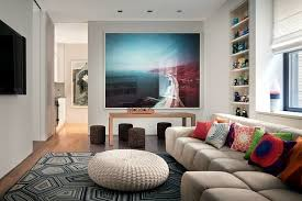modern apartment art design apartment in new york indi interiors combines art and