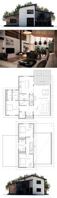 modern houses plans modern house plans floor plan for 2 story 3d small home simple