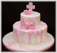 christening pink bake create and decorate pinterest