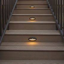 Stair Lights Outdoor Outdoor Stair Lighting Kit Zhis Me