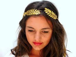 grecian headband grecian headband golden leaf crown gold olive leaves