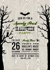 free printable halloween party invitation templates bridal shower