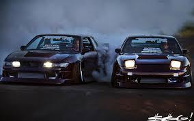 nissan 240sx jdm wallpaper cars drifting nissan 180sx silvia s13 jdm wallpaper 70746