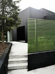 moderne garten ideen sichtschutz schwarzes holz grün garden
