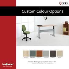Height Adjustable Desk Electric by Qdos Ft Sit Stand Desk Bad Backs Australia