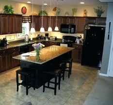 kitchen island overhang granite countertop overhang kitchen island with granite overhang