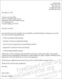 health case manager cover letter sample