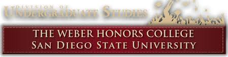 The Weber Honors College   SDSU The Weber Honors College Header