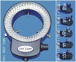 best led ring light led ring light source mic 209 144 led ring light source online with