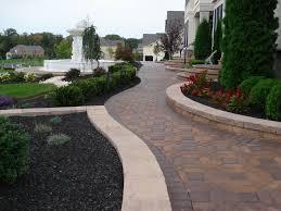 Garden Walls Ideas by Driveway Design Ideas Zamp Co