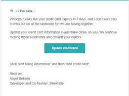 5 customer retention emails you should be sending today w examples
