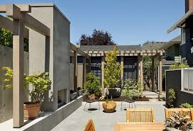 Courtyard Designs by Modern Front Yard Courtyard Front Yard Courtyard Gallery Xtend