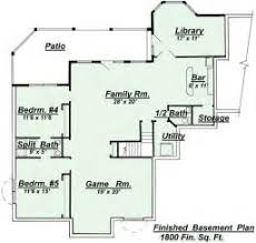 house plans with finished walkout basements ranch house plans with walkout basements excellent ranch home