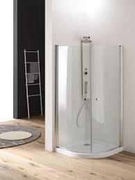 ferbox cabine doccia box doccia semicircolare in cristallo oasis apertura battente totale