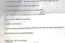 man arrested after handing out sinister letters to women daily