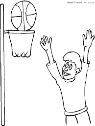 free sports coloring pages sherriallen