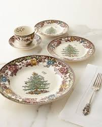 spode 5 tree grove dinnerware place setting