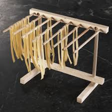 sur la table philips pasta maker italian wood pasta drying rack sur la table