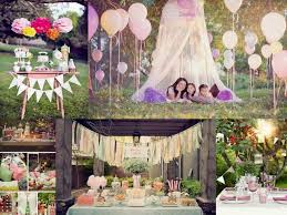 ideas for birthday outdoor party decoration outdoor party