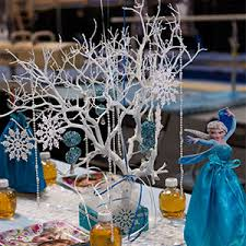 frozen centerpieces frozen children s party package party pros all party rentals