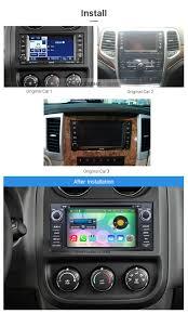 seicane s126061 2008 2011 jeep grand cherokee radio replacement