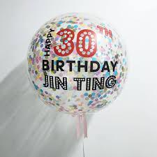 personalized balloons 36 inch 2 5cm confetti balloons personalized confetti balloons
