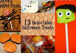 13 impressive but not time consuming halloween treats