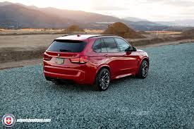 red bmw 2016 a melbourne red bmw x5m gets hre p200 wheels my car portal