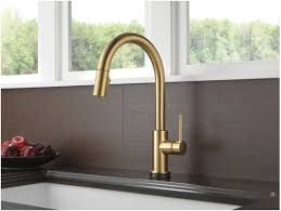Kitchen Faucet Low Flow Delta Touch Faucet Manual Bypass Best Faucets Decoration