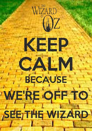 Wizard Of Oz Shower Curtain Keep Calm Because We U0027re Off To See The Wizard Oz Pinterest